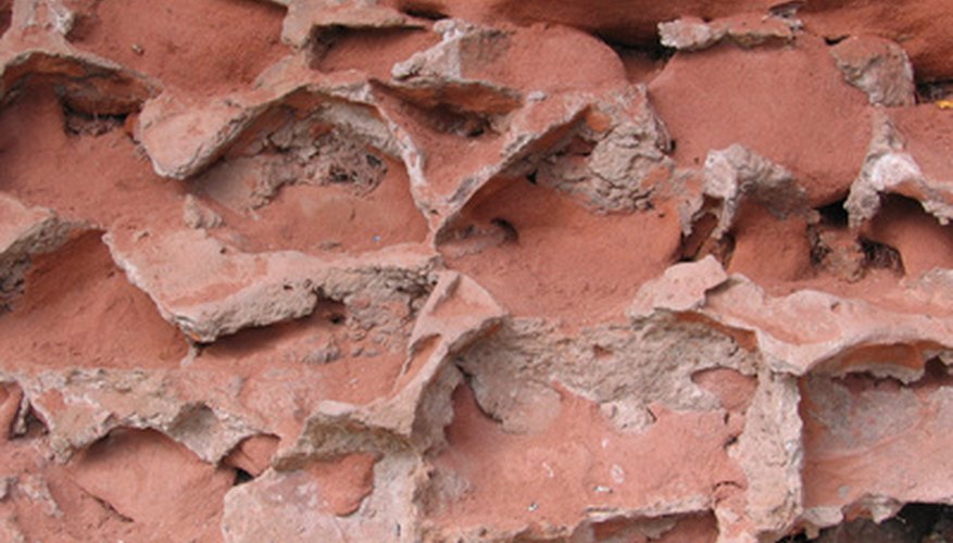 Fireproof mortar adds additional fire and heat protection to a wall or building.
