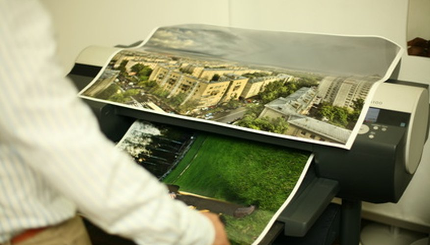 Both the Epson 9800 and 9880 are used to print wide-format prints.