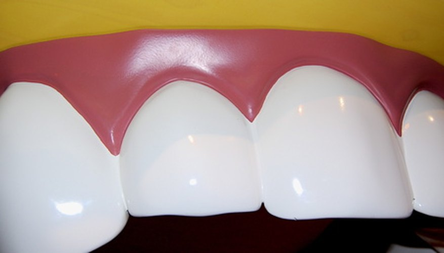 You can make your own teeth using common household products.