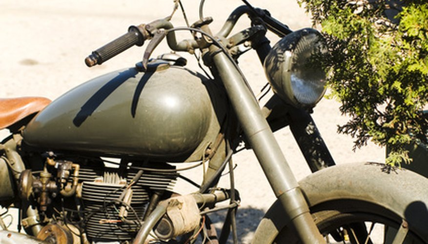 Learn how to convert your Triumph motorcycle from positive to negative ground