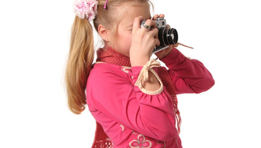 Children can learn a lot by having hands-on experiences with cameras.