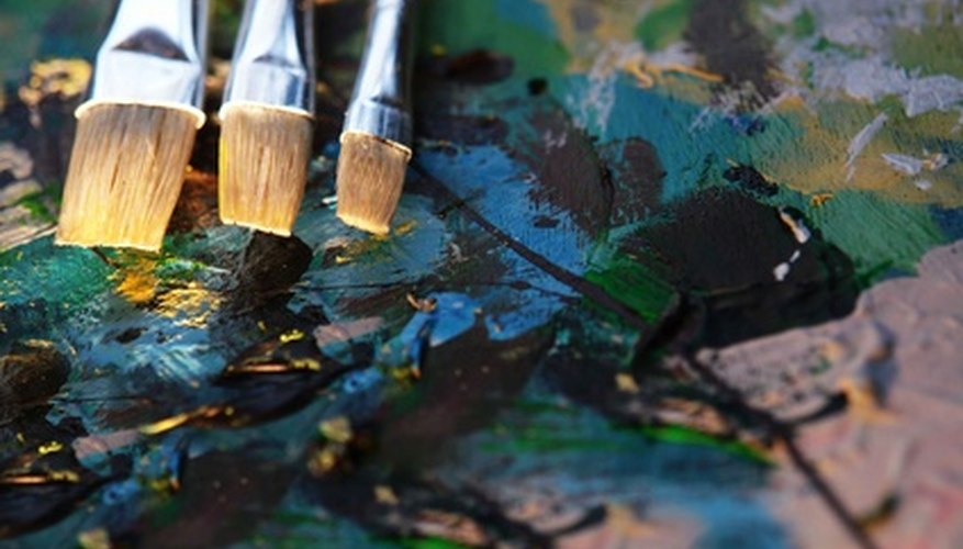 Oil paintings have texture that often elucidates the picture's story.