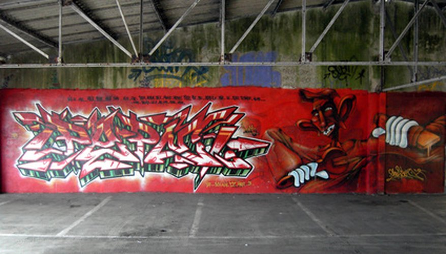 There are a number of ways of picking graffiti names