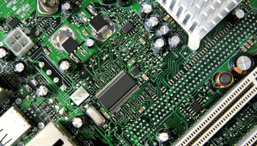 Computers control manufacturing in some companies.