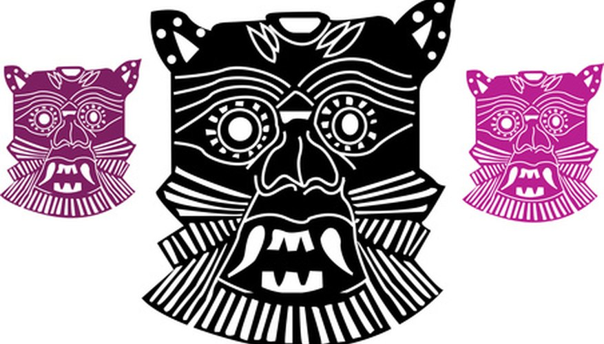 Make your own Aztec calendar as an Aztec craft.