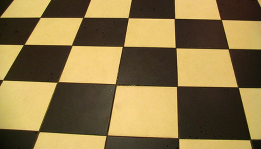 Try a simple checkerboard pattern on your chair seat.
