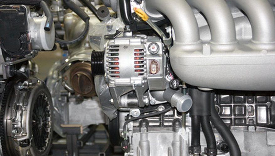 Identify your Nippondenso alternator by looking at the alternator's back plate.