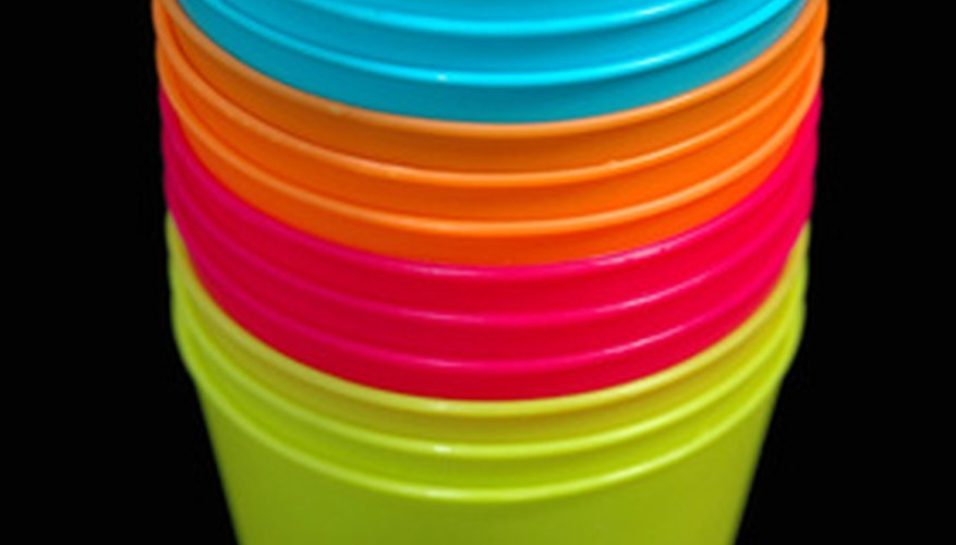 Repair rather than replace cracked plastic containers
