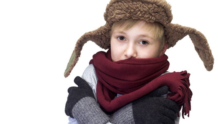 The body induces seizure-like shivers in response to cold.