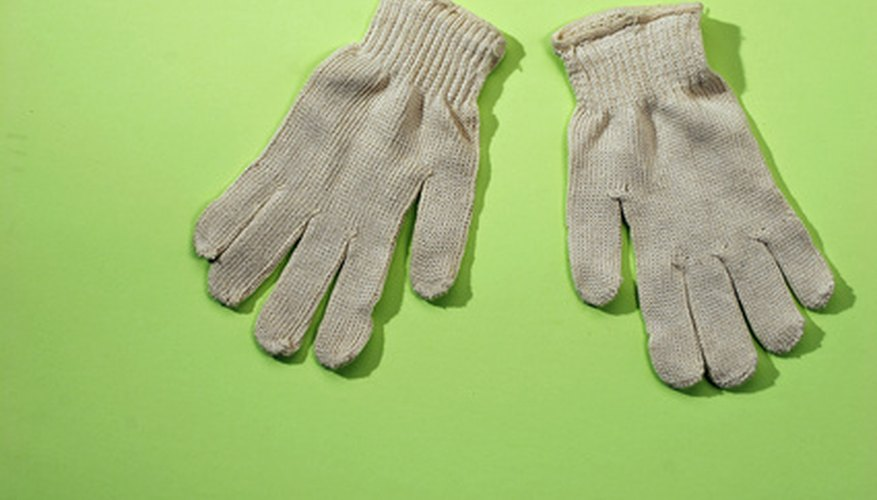 Fingers are the difficult part of knitting gloves. Eliminate them for beginners, or those seeking a quick project.