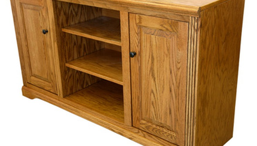 Oak is an open-grained wood that loves to soak up stain.