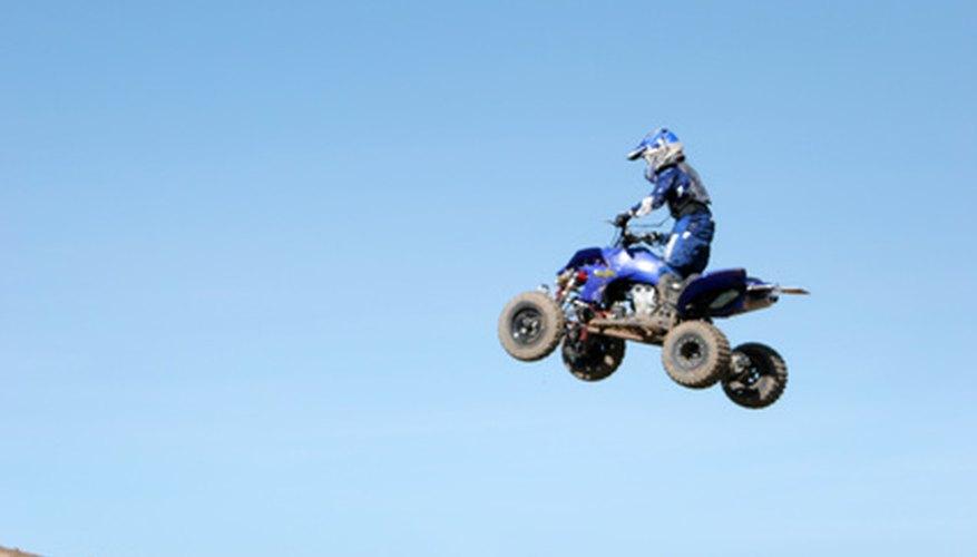 The Moto 4 Was Yamaha's first ATV four-wheeler.