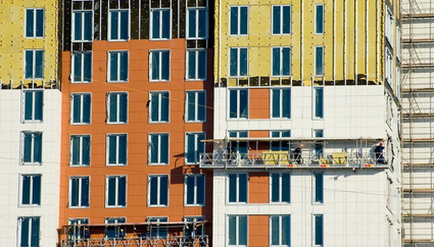 Cladding can improve the aesthetics of a building.
