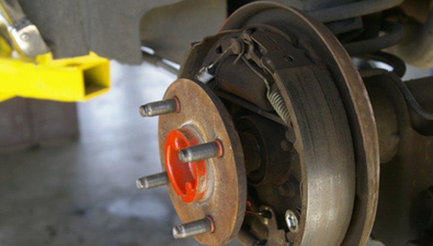 Brake bleeding should be performed after brake work.