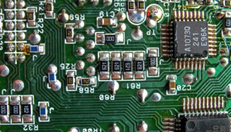 Antistatic mats protect sensitive electronics from static damage.