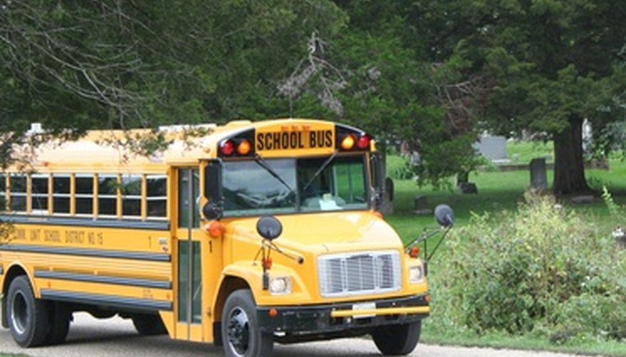 School bus drivers have the responsibility of safely driving your children.