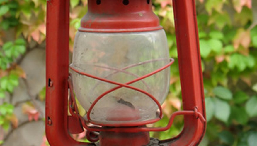 Hurricane lanterns burn a variety of fuels.