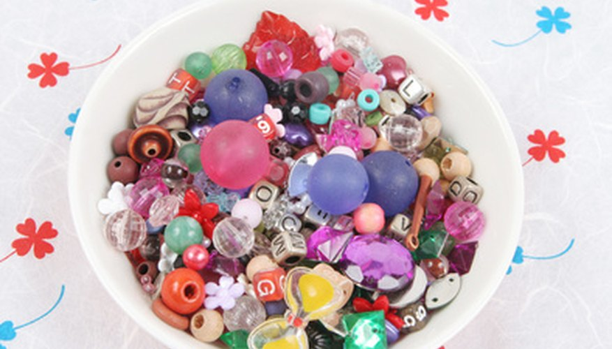 Check your craft supply collection for embellishments to add to handmade boppers.