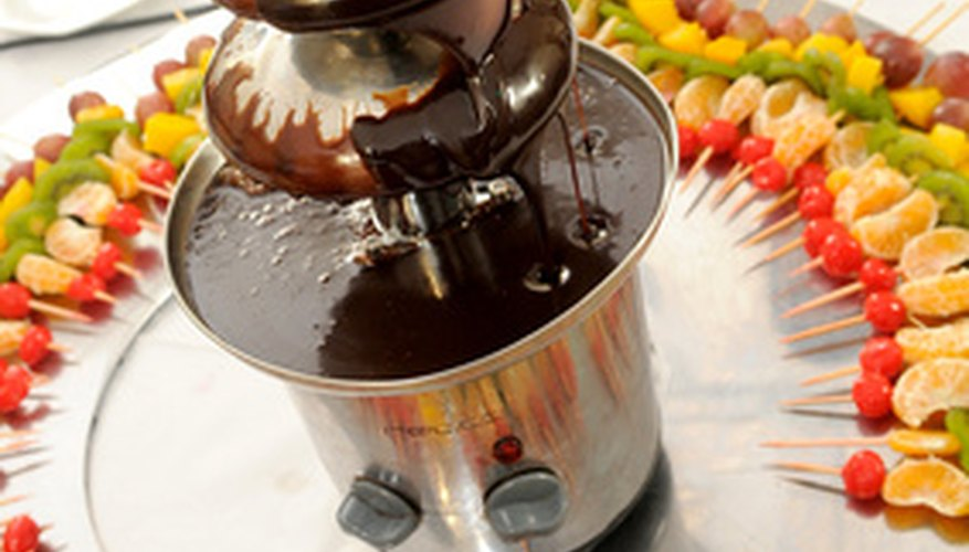 Constantly stirring the Cadbury chocolate will keep it from burning.