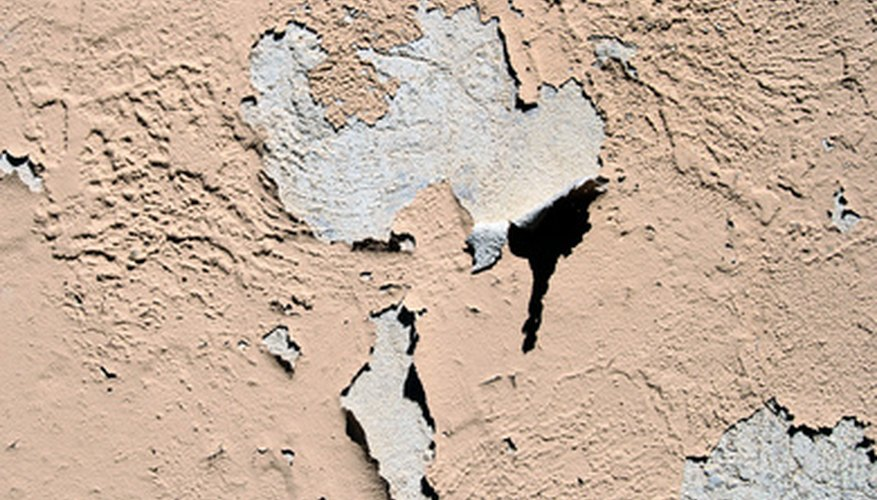 Do not paint directly over bare concrete, or the finish will fail.