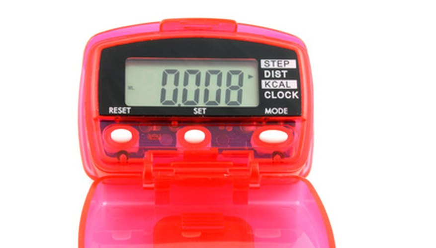 Pedometer batteries can be replaced without any advanced tools.