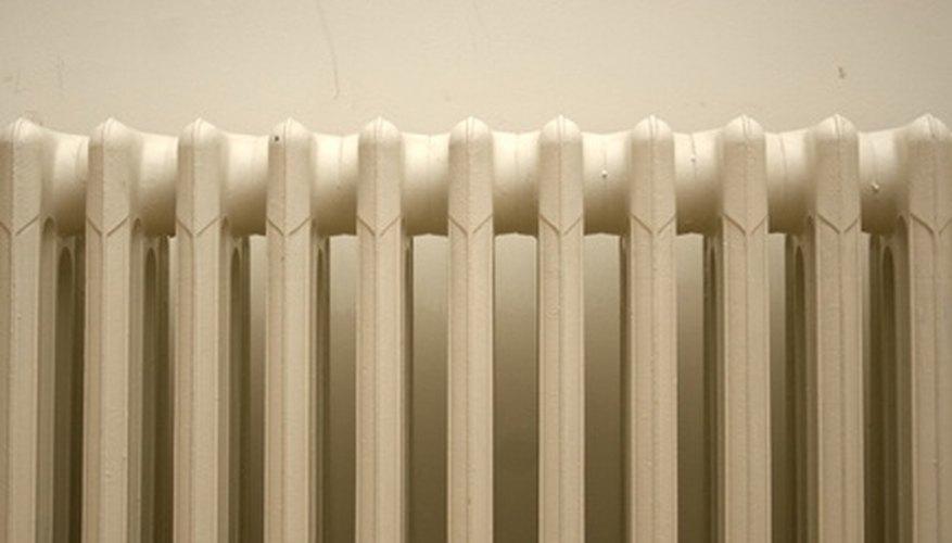 Make decorative cloth radiator covers.