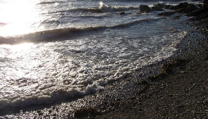 Ocean tides are caused by the moon's position relative to earth, so they remain mostly consistent over time.