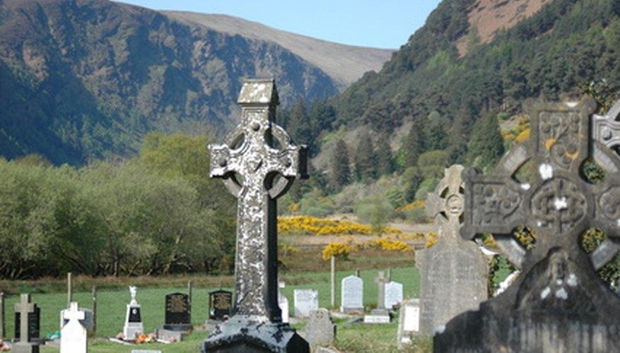 The Celtic snake symbol hails from Ireland.