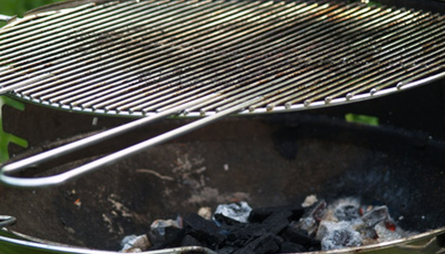 Remove mould from your barbecue grill before using it.