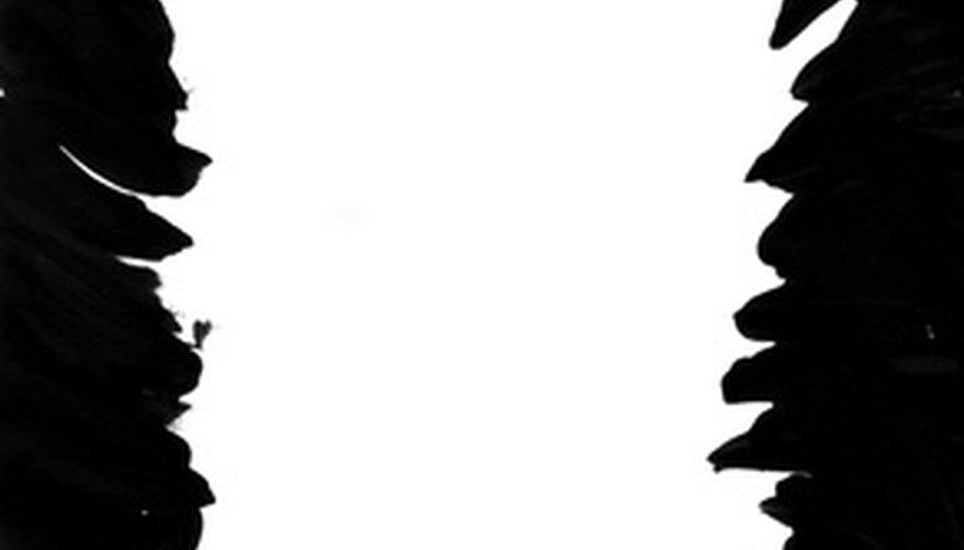 Print white on black paper using a black background.