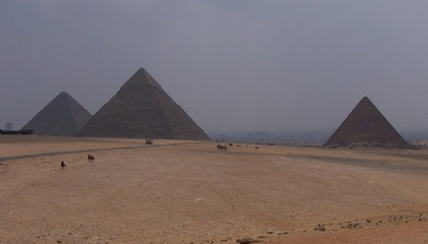 The pyramids are the only one of the seven world wonders remaining.