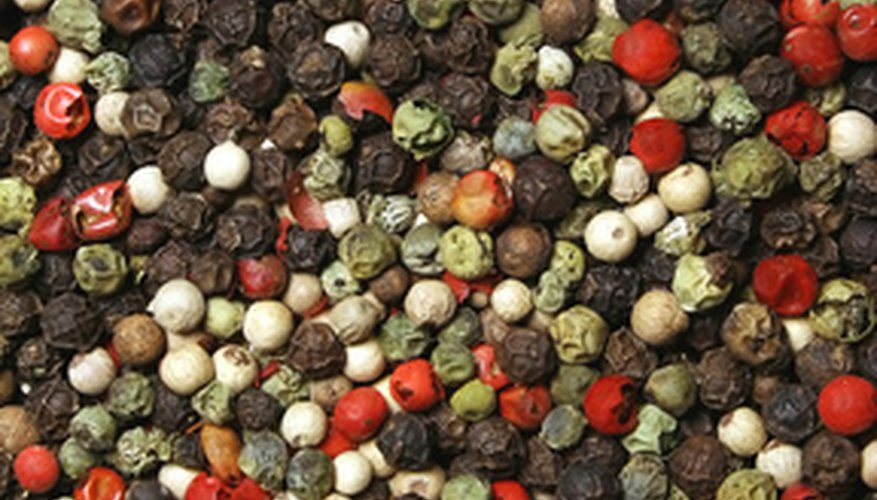 Brined, green peppercorns are a popular addition to steak sauces