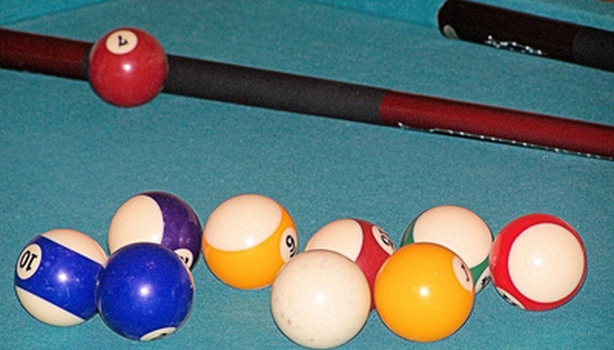Traditionally, pool tables have a slate surface; however, many alternative materials exist.