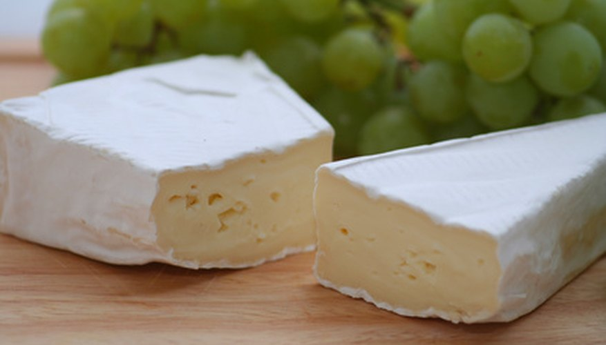 Brie rind complements the creamy cheese inside.