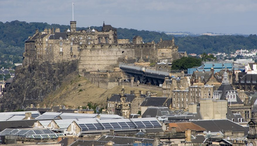 Although Edinburgh is Scotland's capital, Glasgow is the largest city.