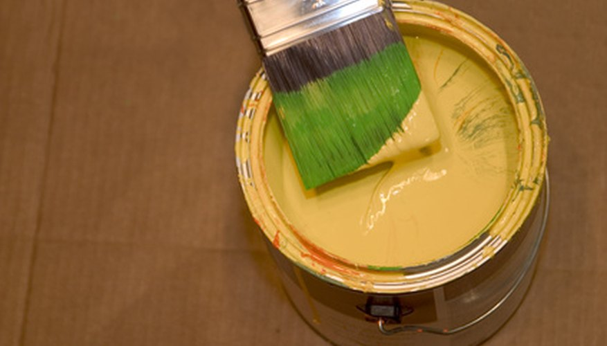You can clean paint from your car's carpet with just a few household supplies.