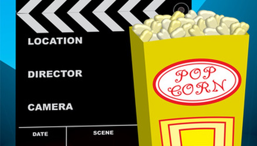 Create a film night for your friends and family.