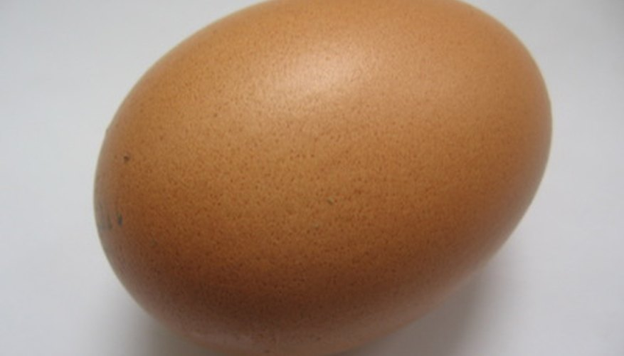 To preserve an eggshell, the contents must be removed first.