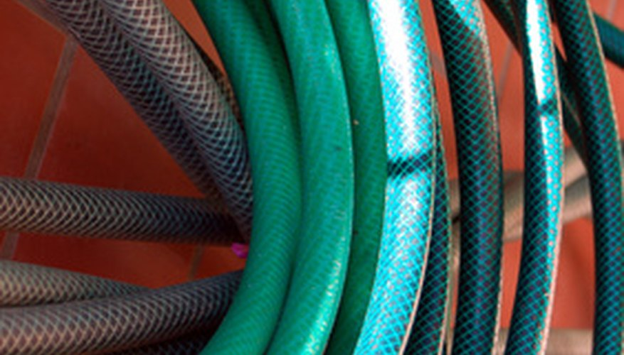 Clean outdoor slate with your garden hose.