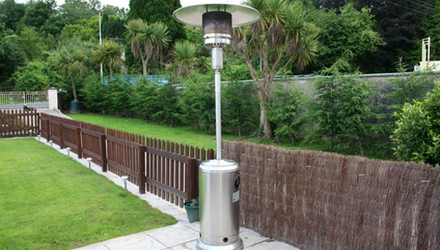 A patio heater should be cleaned six times a year.