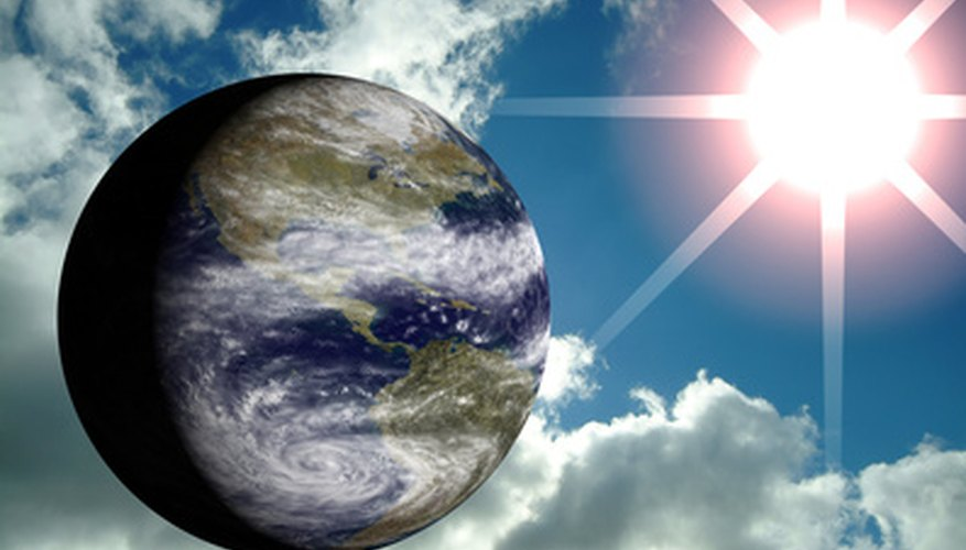 The Earth needs the Sun for its energy.