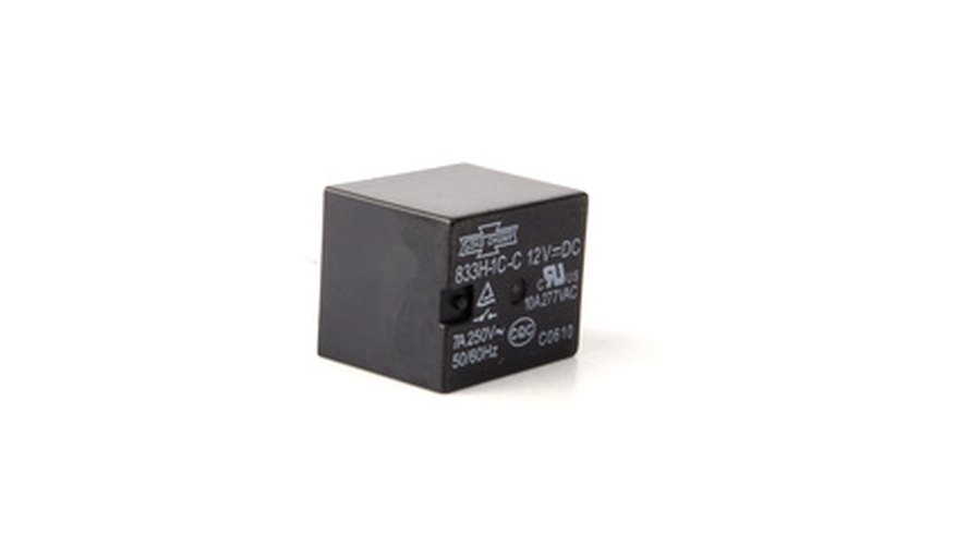 Relays come in many sizes and shapes.