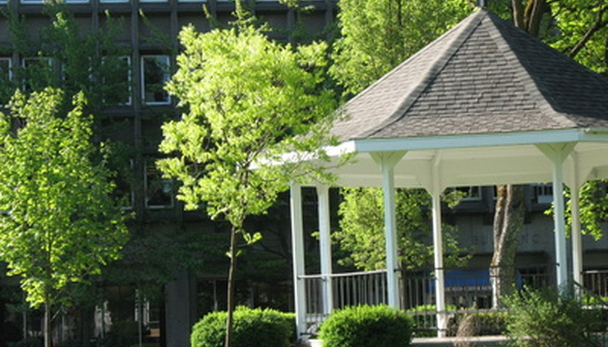 Enhance your gazebo with special flooring.