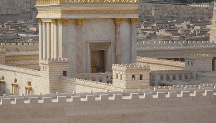 Frankincense and myrrh were spices used to make incense in the Jewish Temple.