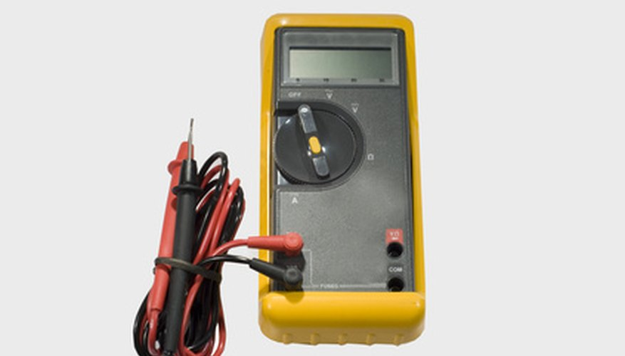 Use a multimeter to test your electronic EGR valve.