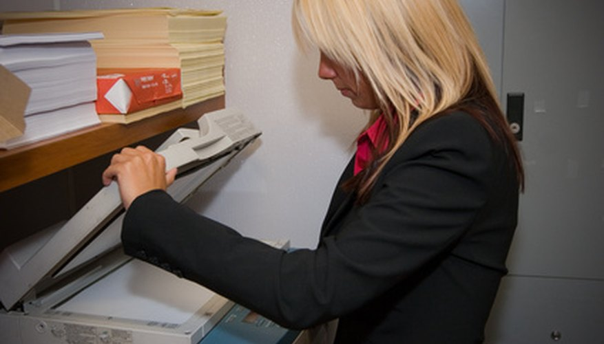 Printers and copying machines have replaced carbon paper and typewriters for creating materials.