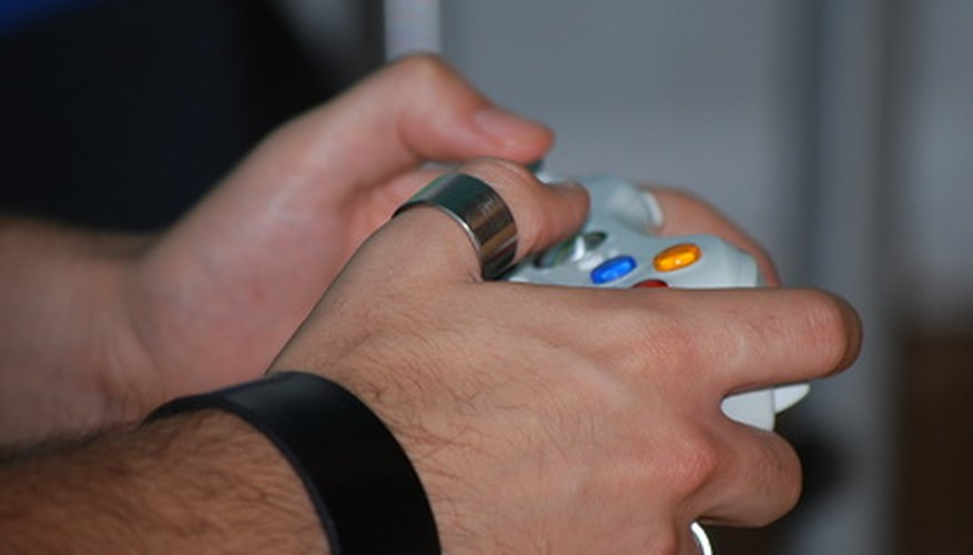 Xbox Live allows Xbox 360 users to play other players across the world.