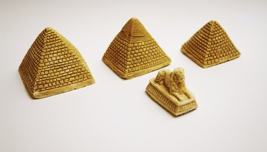 Create a scale model of the pyramids of Giza to teach students about ratios.