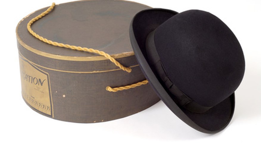 Fur and wool felt are used to make high-quality hats.