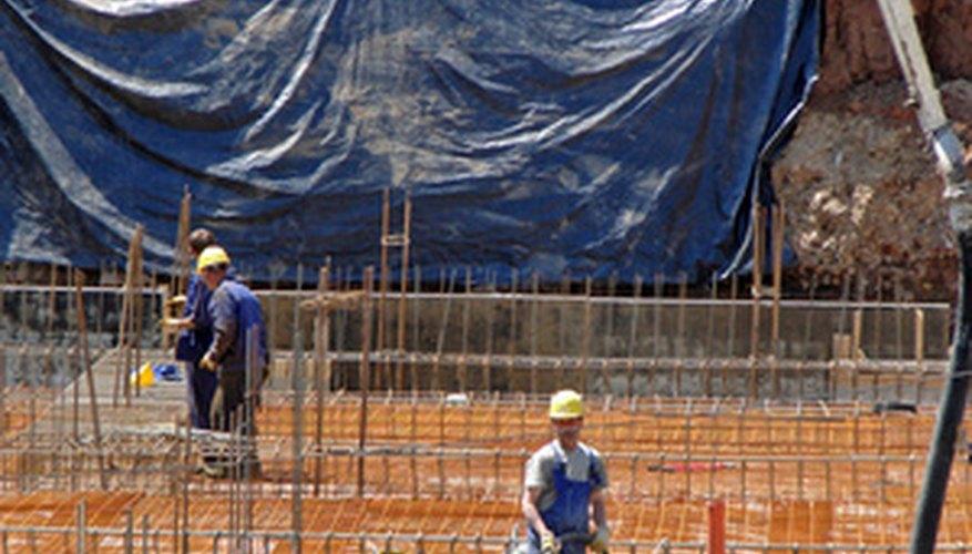 Sitios de construcción.
